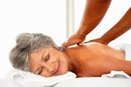 массаж для пожилых