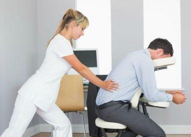массаж в офисе