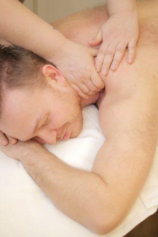 массаж шеи